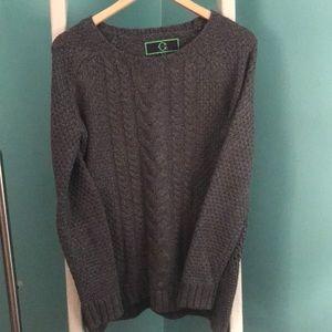 C wonder gray sweater
